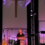 Terri Rodriguez of Calvary Chapel prays over our night  10/2011