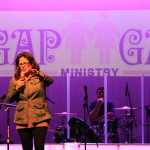 Pastor Melody of NBCC prays over the night  3/2012